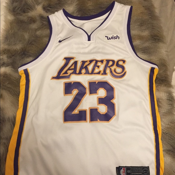 huge selection of b22ed 0d7a0 LeBron James Laker Jersey